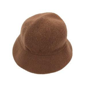 Vintage Bucket Hat Camel Fuzzy Wool